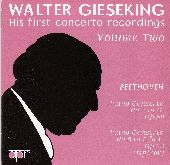 Album artwork for Walter Gieseking: His first concerto recordings, V