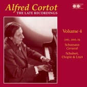 Album artwork for Cortot: The Late Recordings, Vol.4 (1951,53-54)