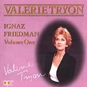 Album artwork for Valerie Tryon: Ignaz Friedman, Volume One
