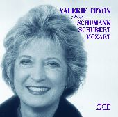 Album artwork for Valerie Tryon: Mozart, Schubert & Schumann