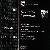 Album artwork for THE RUSSIAN PIANO TRADITION : HEINRICH NEUHAUS