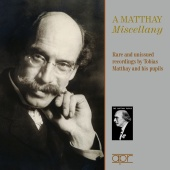 Album artwork for A Matthay Miscellany: Rare and unissued recordings