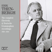 Album artwork for Then-Bergen - The Complete Electrola & Deutsche Gr