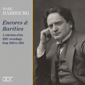 Album artwork for Encores & Rarities from 1910 / Mark Hambourg