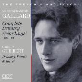 Album artwork for Complete Debussy Recordings 1928-1930 / Gaillard