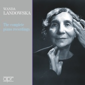 Album artwork for The Complete Piano Recordings. Landowska