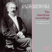 Album artwork for Paderewski - The American Recordings