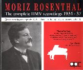Album artwork for Moriz Rosenthal: The complete HMV recordings 1934-
