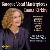 Album artwork for Baroque Vocal Masterpieces / Kirkby