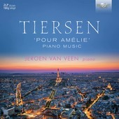 Album artwork for POUR AMELIE: PIANO MUSIC of Tiersen / Van Veen