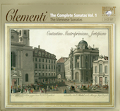 Album artwork for COMPLETE CLEMENTI SONATAS, VOLUME 1