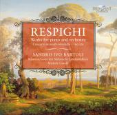 Album artwork for Respighi: Works for Piano and Orchestra