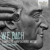 Album artwork for W.F. Bach: Complete Harpsichord Music - Claudio As