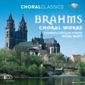 Album artwork for Brahms: CHORAL WORKS