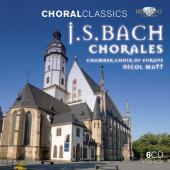 Album artwork for Bach: Chorales / Chamber Choir of Europe