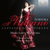 Album artwork for Porpora: Cantatas for Soprano / Martorana