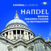 Album artwork for Handel: Messiah, Johannes-Passion, La Resurrezione
