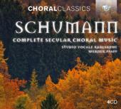 Album artwork for Schumann: Complete Secular Choral Music