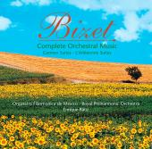 Album artwork for Bizet: Complete Orchestral Music / Batiz