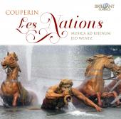 Album artwork for Couperin: Les Nations