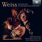 Album artwork for Weiss: Sonatas for Transverse Flute and Lute