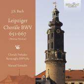 Album artwork for Bach: Leipzig Chorales / Tomadin