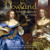 Album artwork for Dowland: Songs for Soprano and Guitar