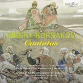 Album artwork for Rimsky-Korsakov: Cantatas
