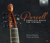 Album artwork for Purcell: Complete Music for Strings / Belder