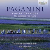 Album artwork for Paganini: Violin Caprices transcribed for Flute