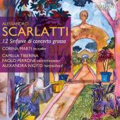 Album artwork for A. SCARLATTI: 12 SINFONIE DE CONCERTO GROSSO