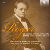 Album artwork for Reger: Concertos, Suites, Variations, etc.