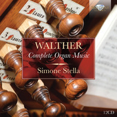 Album artwork for Walther: COMPLETE ORGAN MUSIC