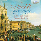 Album artwork for Vivaldi: 6 VIOLIN SONATAS & TRIOS