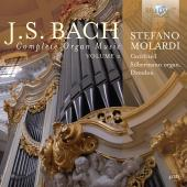 Album artwork for J.S. Bach: Complete Organ Music vol.2 / Molardi