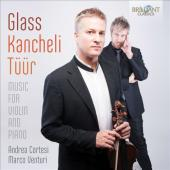 Album artwork for Glass: Music for Violin and Piano