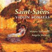 Album artwork for Saint-Saens: Violin Sonatas