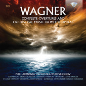 Album artwork for Wagner: Complete Overtures and Orchestral Music