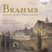Album artwork for Brahms: Sonata for 2 pianos, Haydn Variations