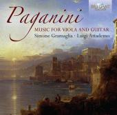 Album artwork for Paganini: Music for Guitar and Viola