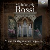 Album artwork for ROSSI: MUSIC FOR ORGAN & HARPSICHORD