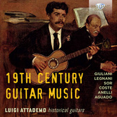 Album artwork for 19TH CENTURY GUITAR MUSIC