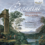 Album artwork for Paganini: Chamber Music for Strings