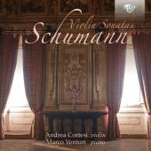 Album artwork for Schumann: Violin Sonatas / Cortesi, Venturi