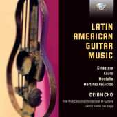 Album artwork for LATIN AMERICAN GUITAR MUSIC