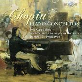 Album artwork for PIANO CONCERTOS 1 & 2
