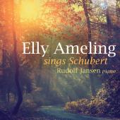 Album artwork for Ameling sings Schubert
