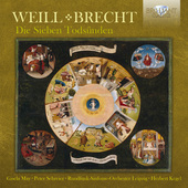 Album artwork for Weill: DIE SIEBEN TODSUNDEN