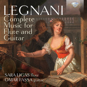 Album artwork for Legnani: Complete Music for Flute and Guitar