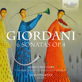Album artwork for Giordani: 6 SONATAS